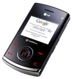 lg google phone 2007